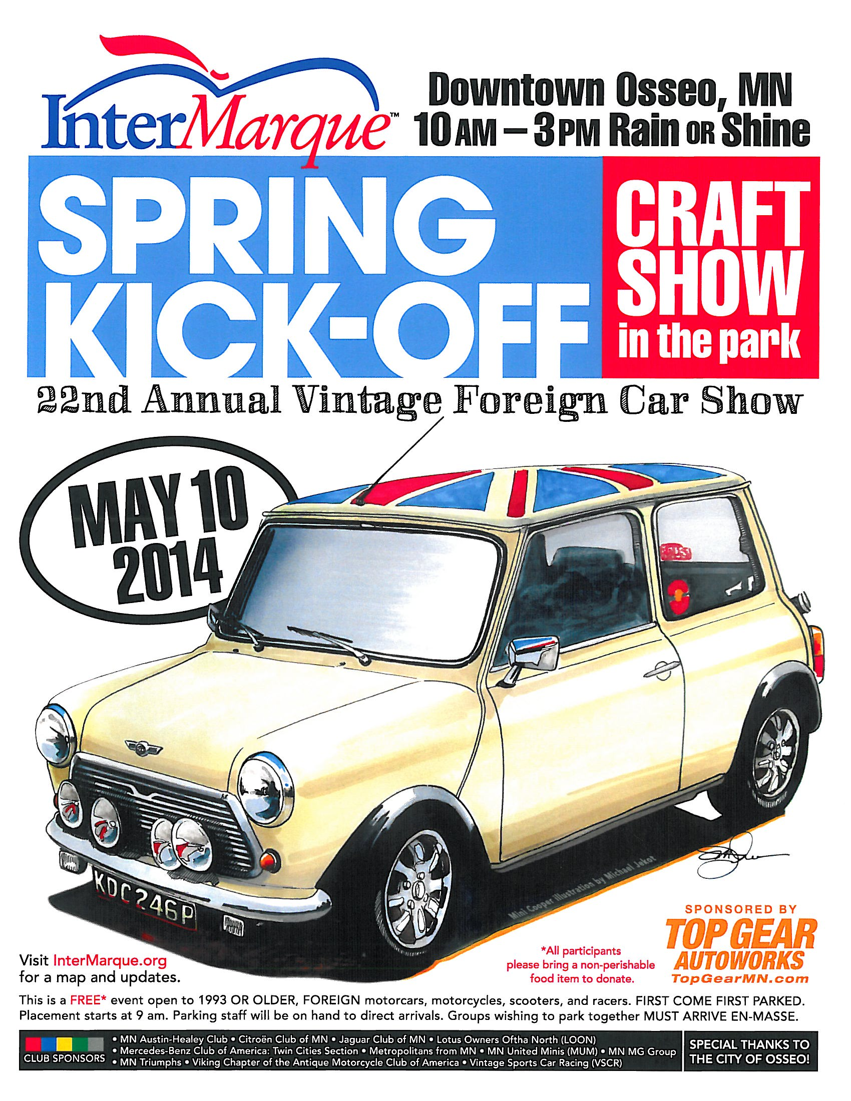 2014 Osseo Vintage Car Show And Craft Fair This Weekend City Of