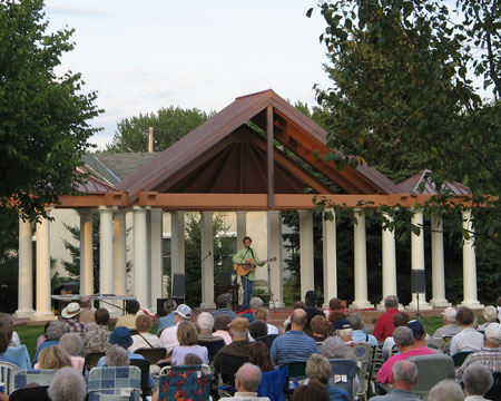 Osseo Music in the Park event