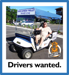Trolley Volunteers Needed Image