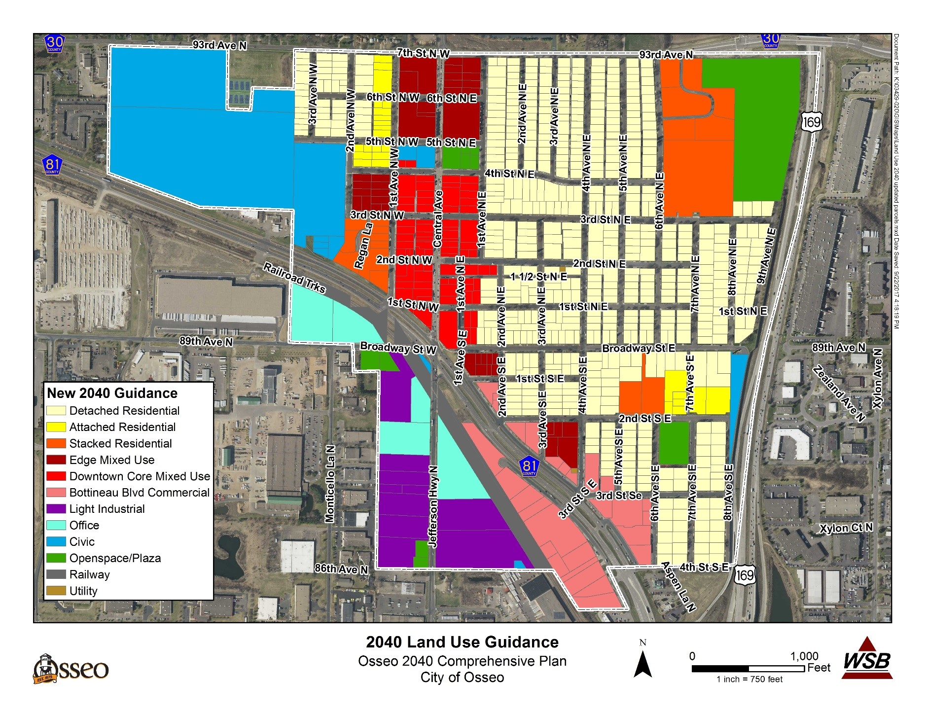 2040 Land Use Guidance Map