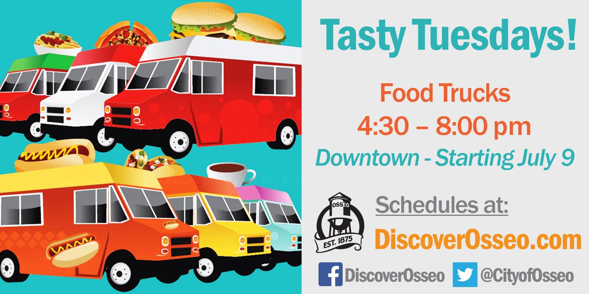 Tasty Tuesdays Food Trucks